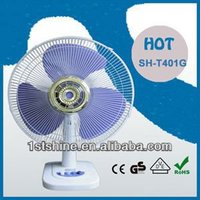 table fan wiring SH-T401G hot sell in Middle East, Africa and South America