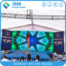 china factory custom P3.91 P4 P4.81 P5 P5.95 P6full color easy install outdoor rental stage video led display