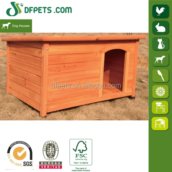Wooden Dog Kennel Solid Fir Wood