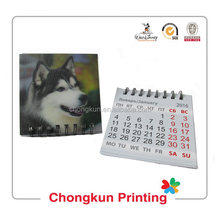 Favorites Compare 2014 calendar Fashionable calender&desk calendar with paper