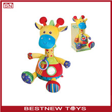 Baby soft toy cute animal plush doll plush stuffed toys for baby