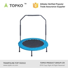 TOPKO Factory Price Fitness Safety Foldable Mini Trampoline