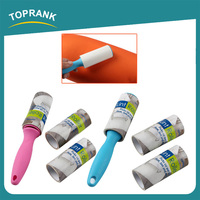 Toprank Wholesale Travel Product Cleaning Clothes Mini Adhesive Roller Disposable Replacement Of Lint Roller Brush