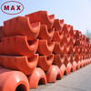 High buoyancy Used floating dock float floating dock plastic pontoons