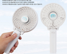 Hot sale cartoon rechargeable portable desk mini usb fan