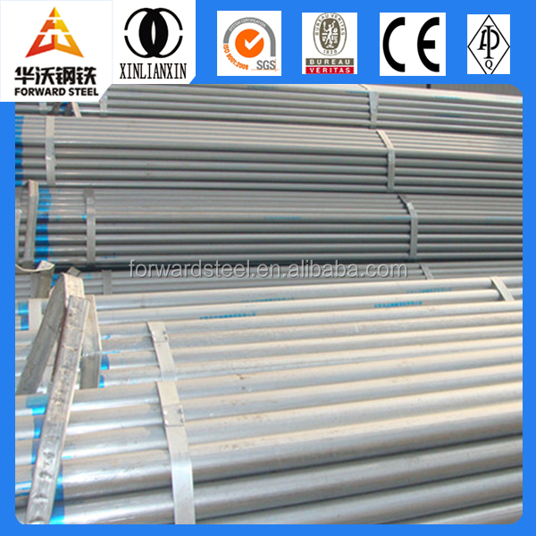 welded steel pipe / gi pipe /pre galvanized round steel pipe steel pipe q 235 used scaffold