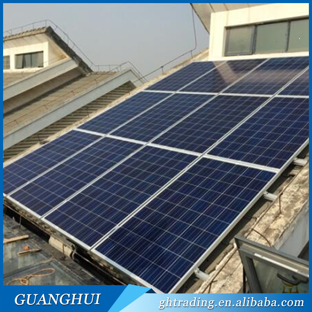 A Grade manufacturer prcie 300w PV Module Solar Cell Panel for india pakistan lahore