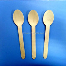 disposable mini wooden spoon