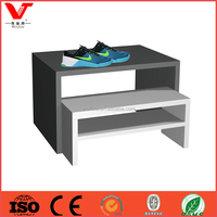 Nike sports shoes store tiered display stand