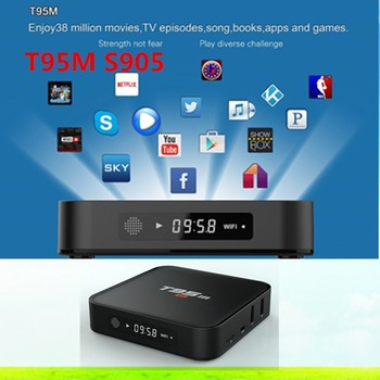 Newest T95M TV box Amlogic S905 Quad Core Support KODI 16.0 Smart tv box T95M
