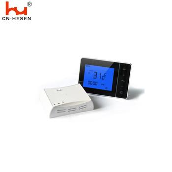 Electronic switch thermostat with wireless RF receiver