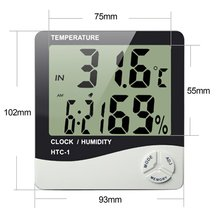New design HTC-1 thermoMETER hygrometer digital temperature humiditiy gauge