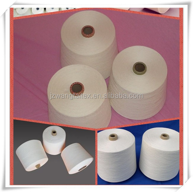 Ne 58s/1 at big discount sold polyester spun yarn best quality