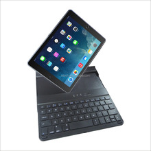 Newest gift Bluetooth 3.0 wireless keyboard case for iPad pro air and tablet PC