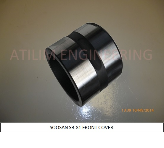 SOOSAN SB81 FRONT COVER lower bushing HYDRAULIC BREAKER SPARE PARTS ATILIM MUHENDISLIK