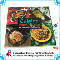 Wholesale Custom Offset Printing Softcover Cooking