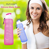 Filter Manufacturer Collapsible Silicone BPA Free Foldable Sports Water Bottle