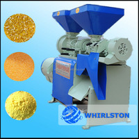 Corn grits grind machine