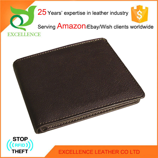 Genuine kangaroo leather wallet Rfid Wallet OEM/ODM Factory 25 Years' Experience