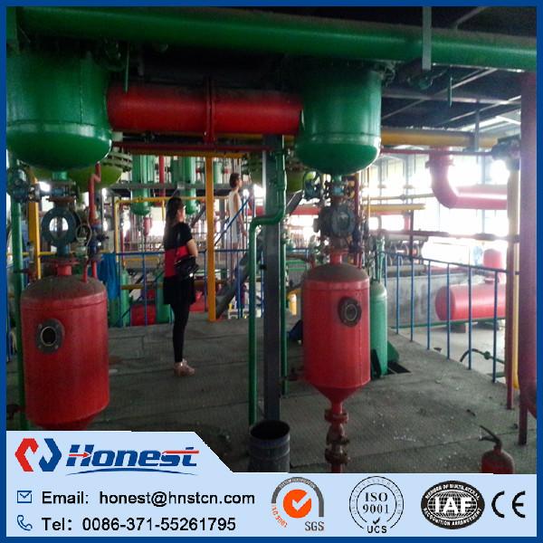 Used tyre recycling plant/tyre recycling machine to fuel oil