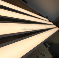Linear luminaires,customized length,recessed ,surface mount or supended installation,high brightness,3000K/4000K/5000K/5700K