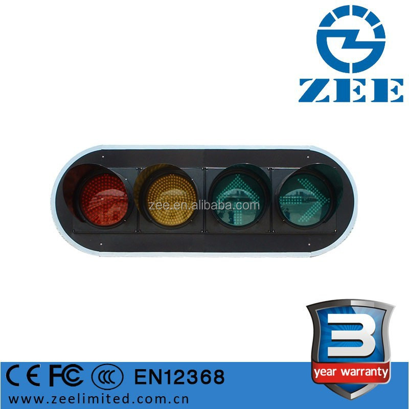 EN12368 CE Approved 300mm Vehicle LED Traffic Signal Light, High Quality IP65 Traffic Light System with Traffic Light Controller