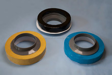 Toilet bowl rubber ring with plastic flange better than wax ring