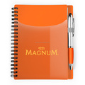 Orange PP cover Spiral Notebook Wholesale