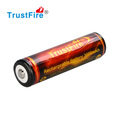 18650 3000mah 3.7v li-ion battery for e-cigarette, TrustFire 18650 lithium battery for led flashlight with tip or flat top