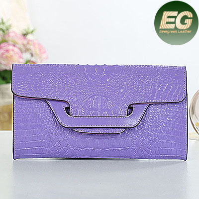 Snake leather clutch hand bag wholesale 100% genuine leather clutch bag low price made in China factory EMG3840