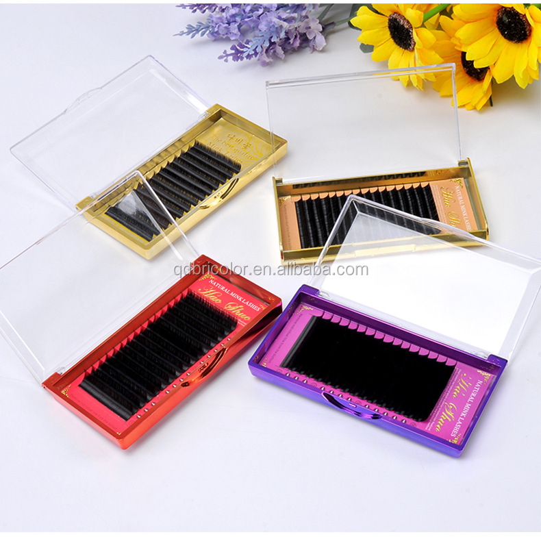 High Quality Natural Real Mink Material Eyelash Extensions