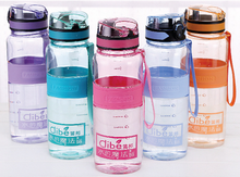 Free sample fashionable fitness bike function water bottle