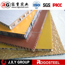 Honeycomb Core Foil Thickness 0.08mm eco-friendly fire rated sandwich panel for indoor decoration materials roofing