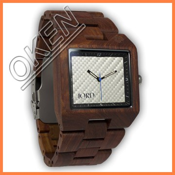 Wholesale Fashion Bamboo Watch Men Custom Logo Wrist We Wood Watch Cheap Handmade Leather Strap And 2015 Women Wooden Watches