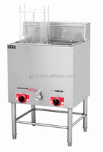 SC-769 new design high quality free standing gas fryer single tank double basket gas deep fryer for sale