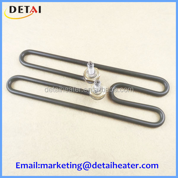 Stainless steel electric heating element for steamer