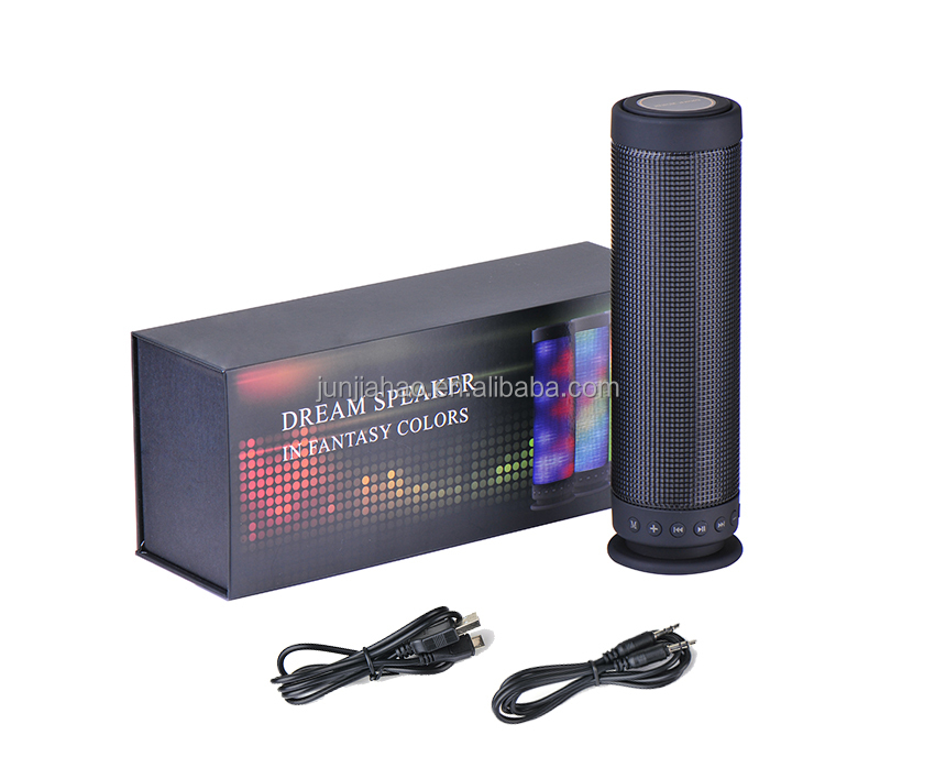 Computer accessories audio import Loud speaker bluetooth with led light