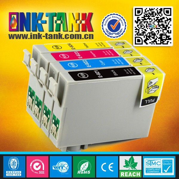 T0921 - T0924 compatible ink cartridges for epson stylus C91 / CX4300 / T27