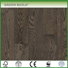 High Quality Indoor Flat 3 Layer Silver Oak Engineered Wood Flooring