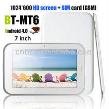 2013 new 7 inch tab tablet pc androi with 2g phone