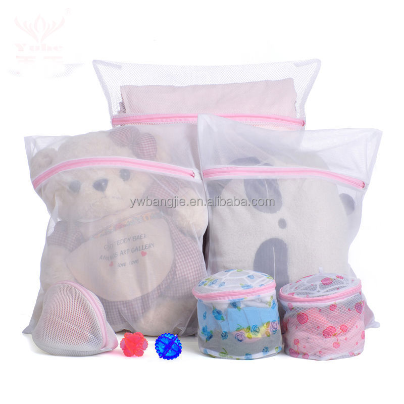 good selling ,polyester nylon washing bag Laundry Net bra Socks Underwear Large and Medium Washing Mesh Laundry Bags