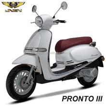 PRONTO III 150CC JNEN Newest Generation 2018 Classic Vespa Piaggio Gas Scooter With Nice Appearance and Perfect Performance