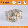 stylish fashion drawer patterned collapsible box for jewelry handmade box