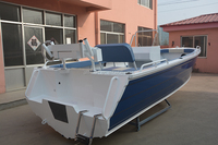 19ft m deep V center console aluminum fishing boat