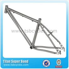 "26"" super light OEM titanium mtb bike frame TSB-MBM1102"