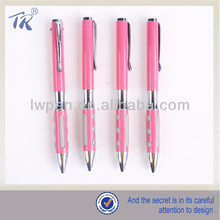 Pink Color Girly School Metal Pens