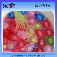Colourful water ballons