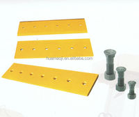 Super quality heavy equipment spare parts dozer blade cutting edge prices