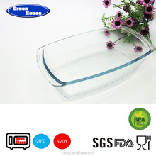 Rectangular Borosilicate Glass Baking Tray Bakeware/Microwave Oven Safe Pyrex Glass Bakeware Cookware/Bake King Bakeware