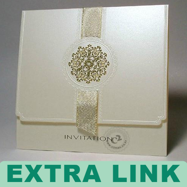 Custom Logo Decorative Paper Laser Cut Wedding Invitation Card Buy
